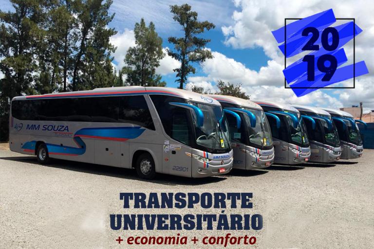Garanta sua vaga para o transporte universitário 2019