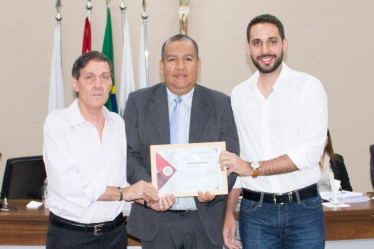 MM Souza recebe Moção de Congratulações da Câmara Municipal de Rafard