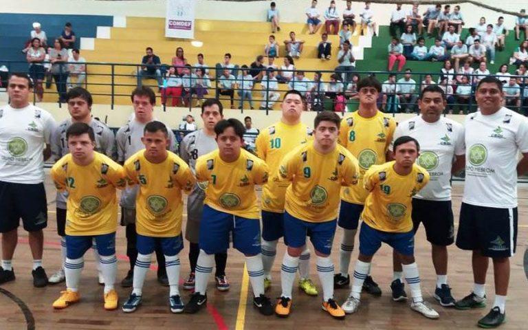 MM Souza é a nova patrocinadora oficial da seleção brasileira de futsal síndrome de Down