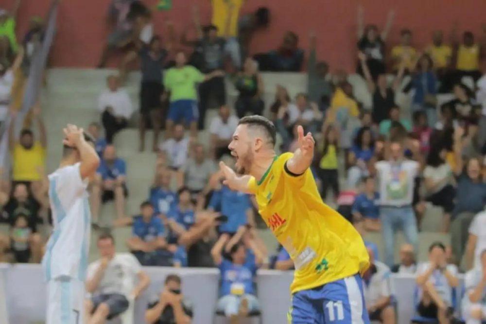 Homenagem da MM Souza à Seleção Brasileira de Futsal Down