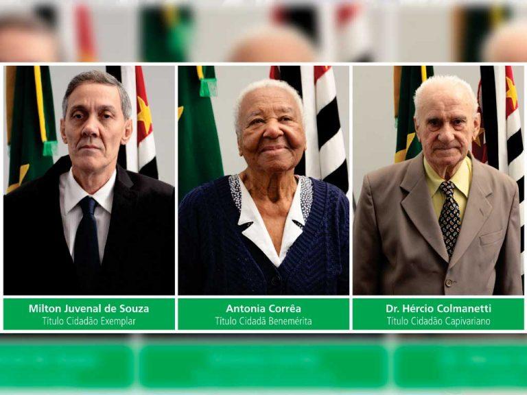 Sócio proprietário da MM Souza recebe título de Cidadão Exemplar na Sessão Solene do aniversário de Capivari