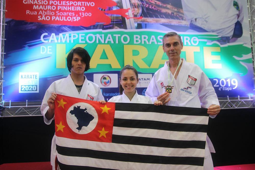 Atletas de Capivari conquistam bons resultados no Brasileiro de Karatê