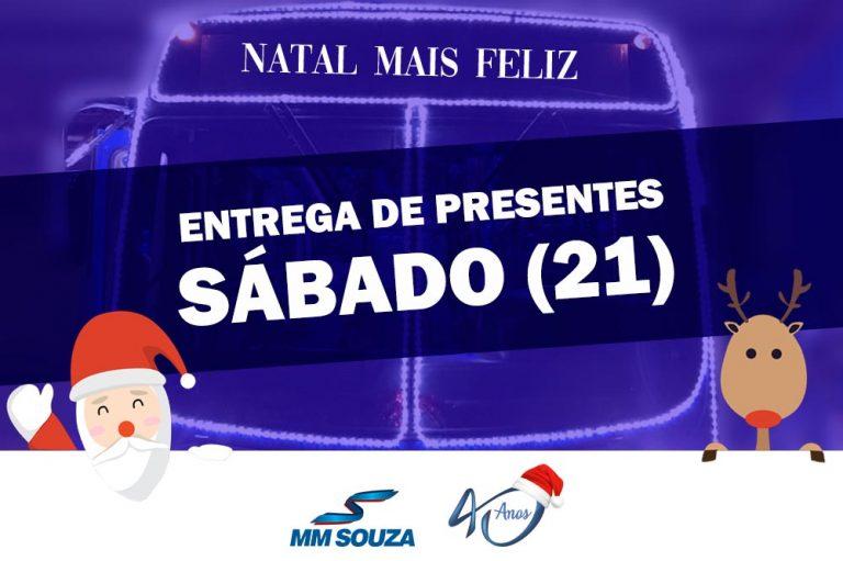 'Natal mais feliz': MM Souza promove tradicional entrega de presentes para crianças de Capivari e Rafard