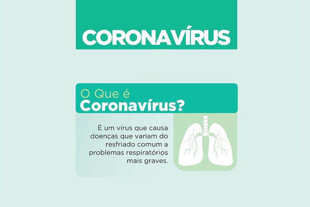 Coronavírus – a informação é a melhor prevenção