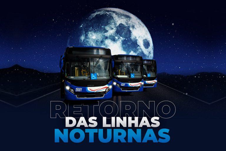 Retorno do transporte público noturno; fique por dentro dos horários