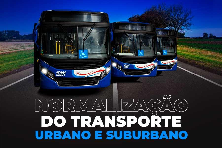 Normalização do transporte público urbano e suburbano