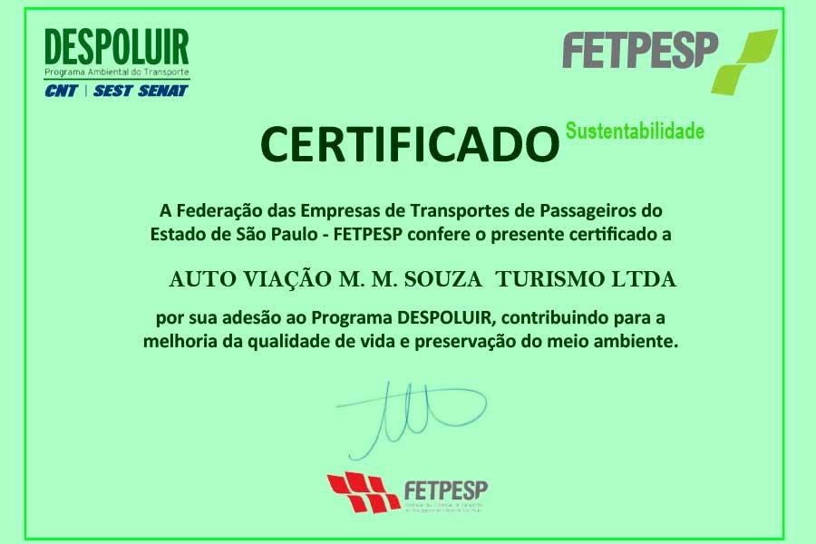 MM Souza reafirma seu compromisso com o meio ambiente e adere ao Programa Despoluir