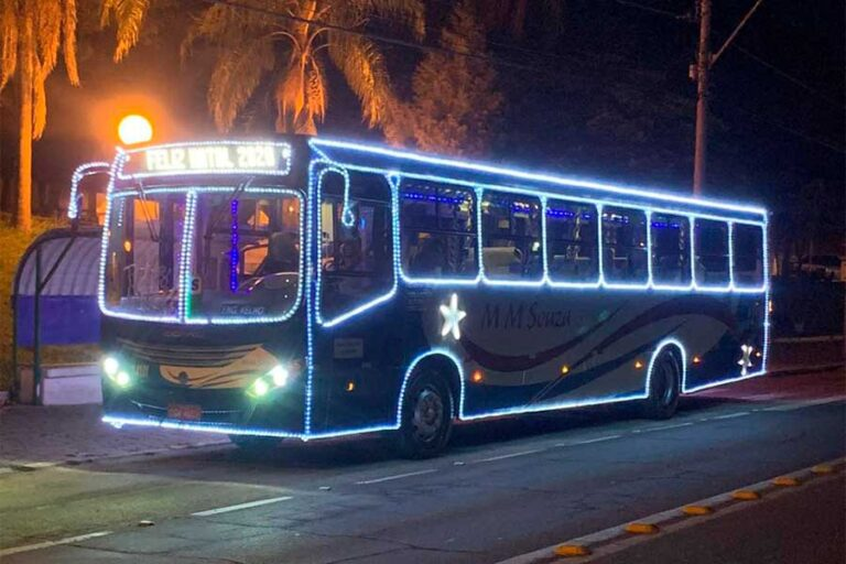 Ônibus de Natal da MM Souza já está nas ruas